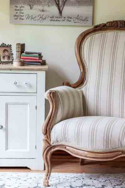 The Reveal | Victorian Reupholstered Chair