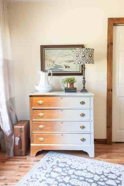 Antique Dresser Transformation | The Reveal