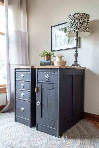 Custom Cabinets | Roll Top Desk