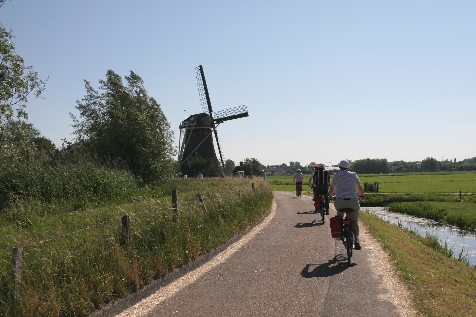 Fiets-vaarvakantie van Amsterdam naar Maastricht 8 dagen