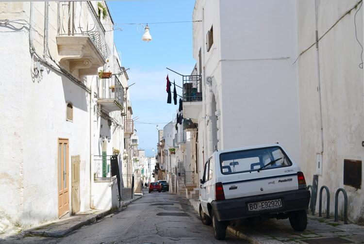 Roadtrip Puglia route