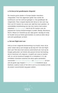 Gratis ebook 'Goedkoper op reis'