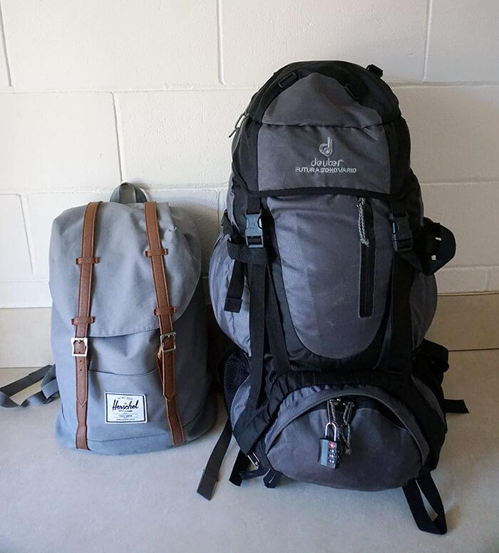 Backpack inpakken