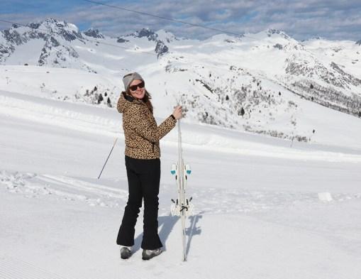 Eerste keer skiën