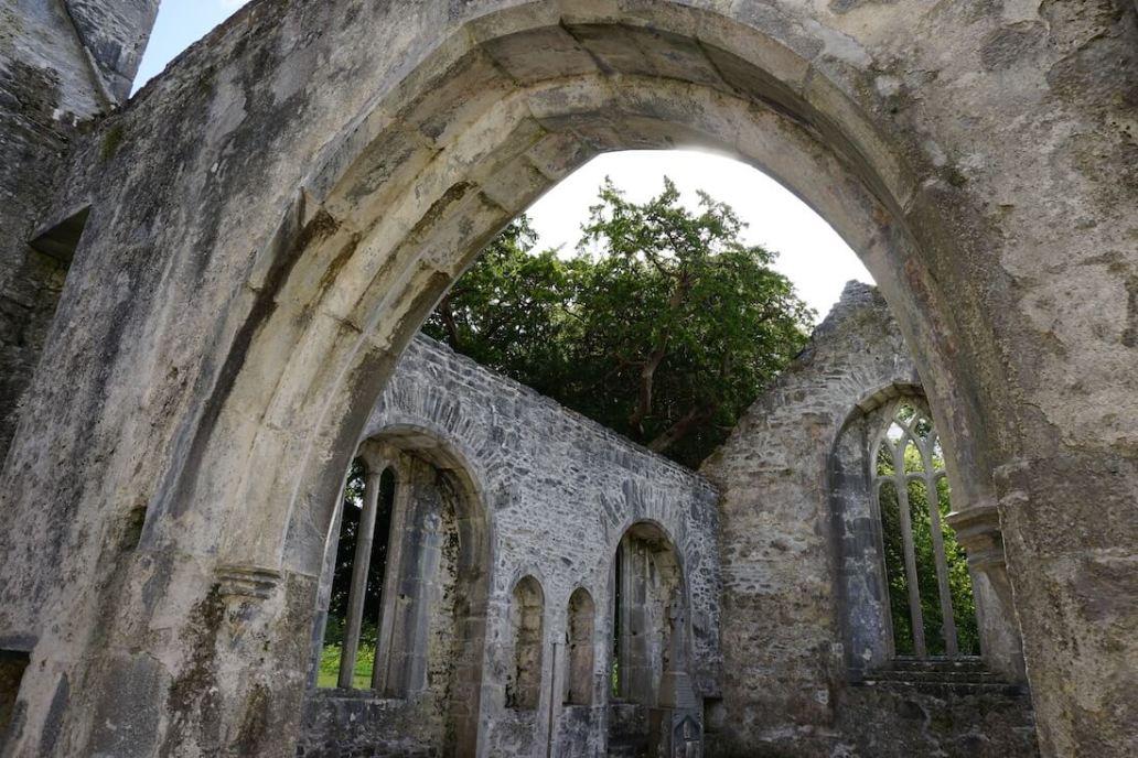 Muckross Abbey - Killarney National Park