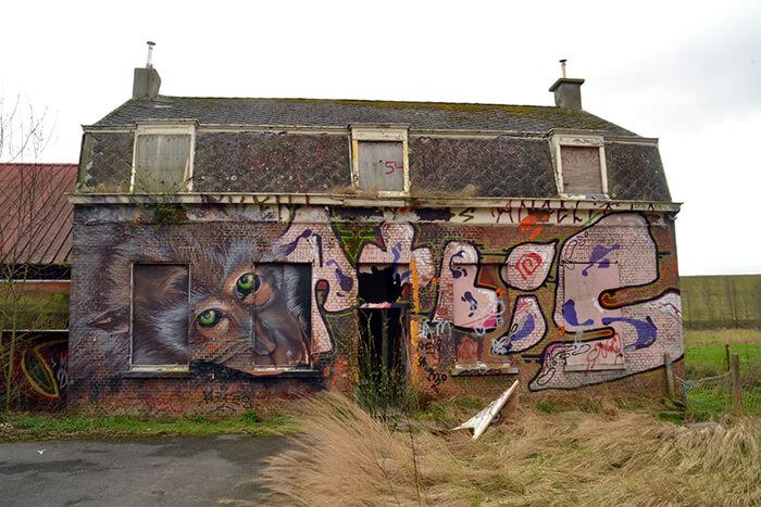 Spookstad Doel, België