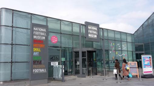 National Football Museum Manchester Eingang