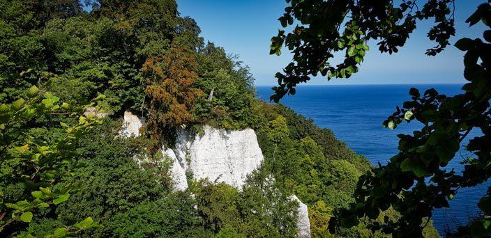 Uitzicht vanaf het uitkijkplatform Königsstuhl op de Feuerregenfelsen