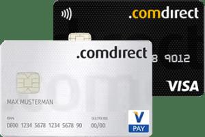 Geld abheben Irland - Comdirect