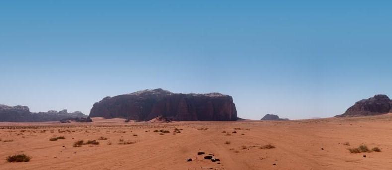 Ohne Alk im Wadi Rum