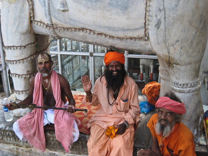 Wunderheilung in Udaipur