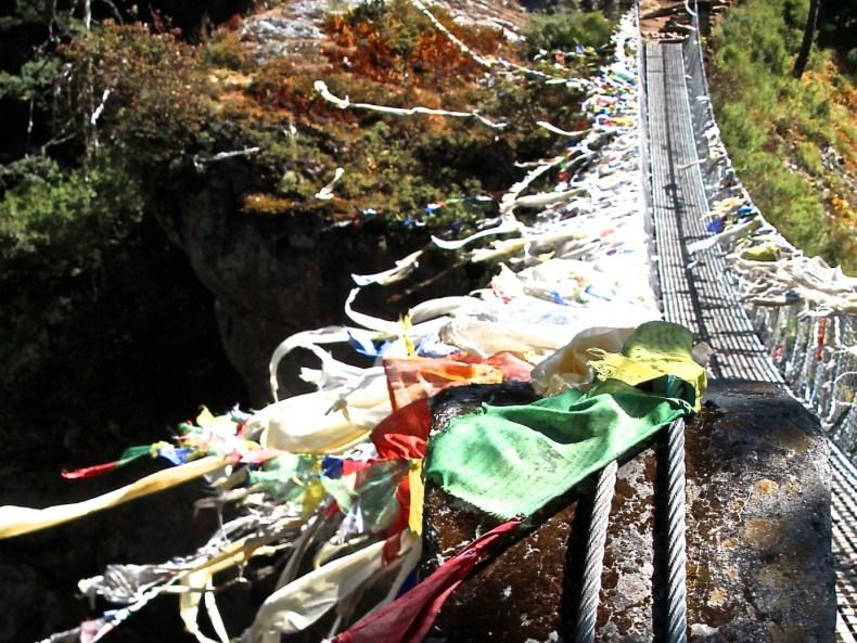 Yaks, Hängebrücken und der erste Blick auf den Everest –von Monjo nach Namche Bazaar