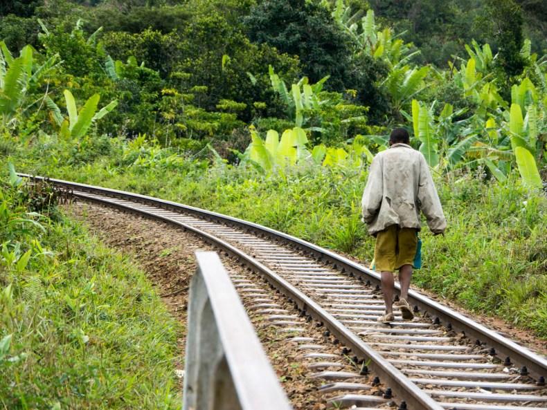 Im Zug an die Ostküste Madagaskars