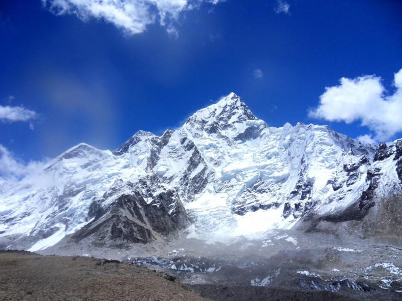 An den Fuß des Everest II