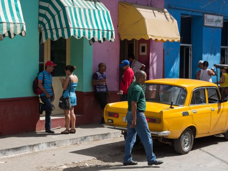 Mit dem taxi colectivo durch die Fünfzigerjahre