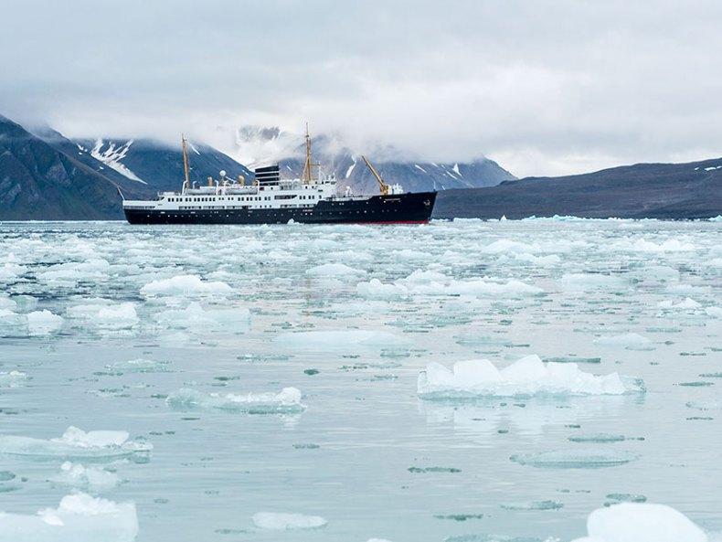 Mit der Nordstjernen nach Spitzbergen