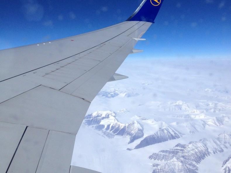 Glück über Grönland
