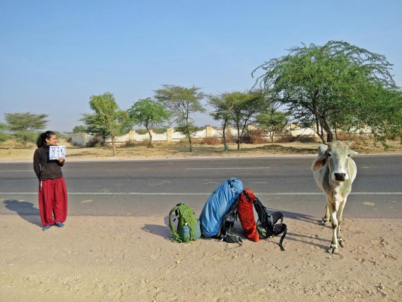 Begegnungen am Straßenrand