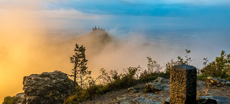 Burg Hohenzollern vom Zeller Horn