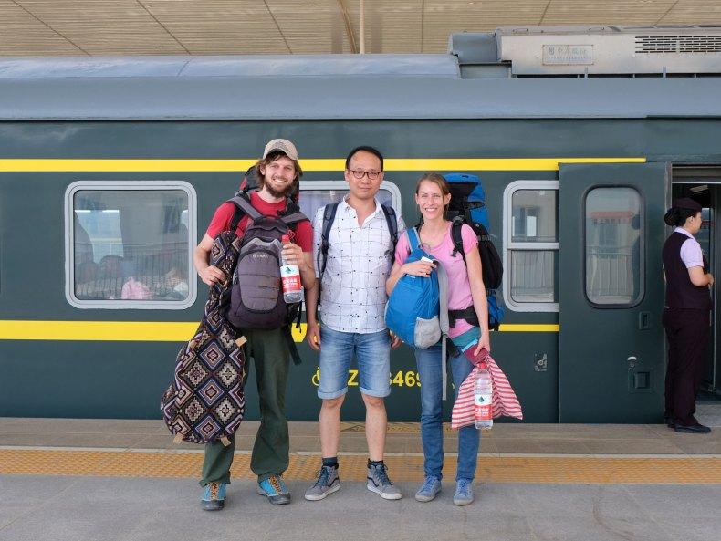 Eine Weltreise mit öffentlichen Verkehrsmitteln