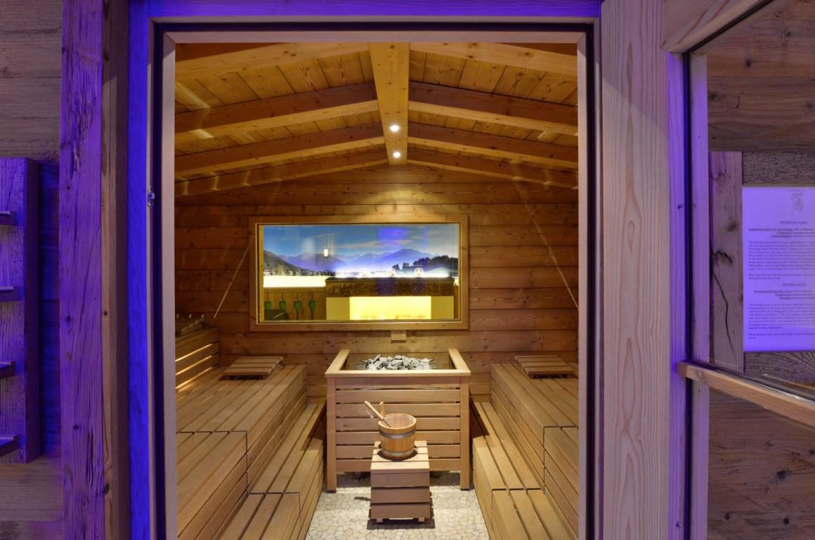 Finse sauna in Almdorf Spa Hotel Erb Parsdorf in de buurt van München