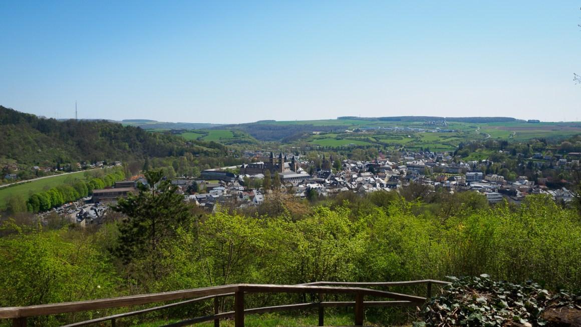 Uitzicht over Echternach