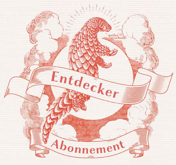 Reisedepeschen Entdecker-Abo Buch-Subskription