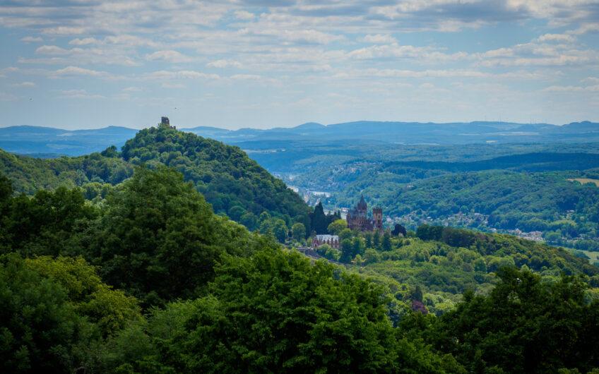 Uitzicht over het Siebengebirge