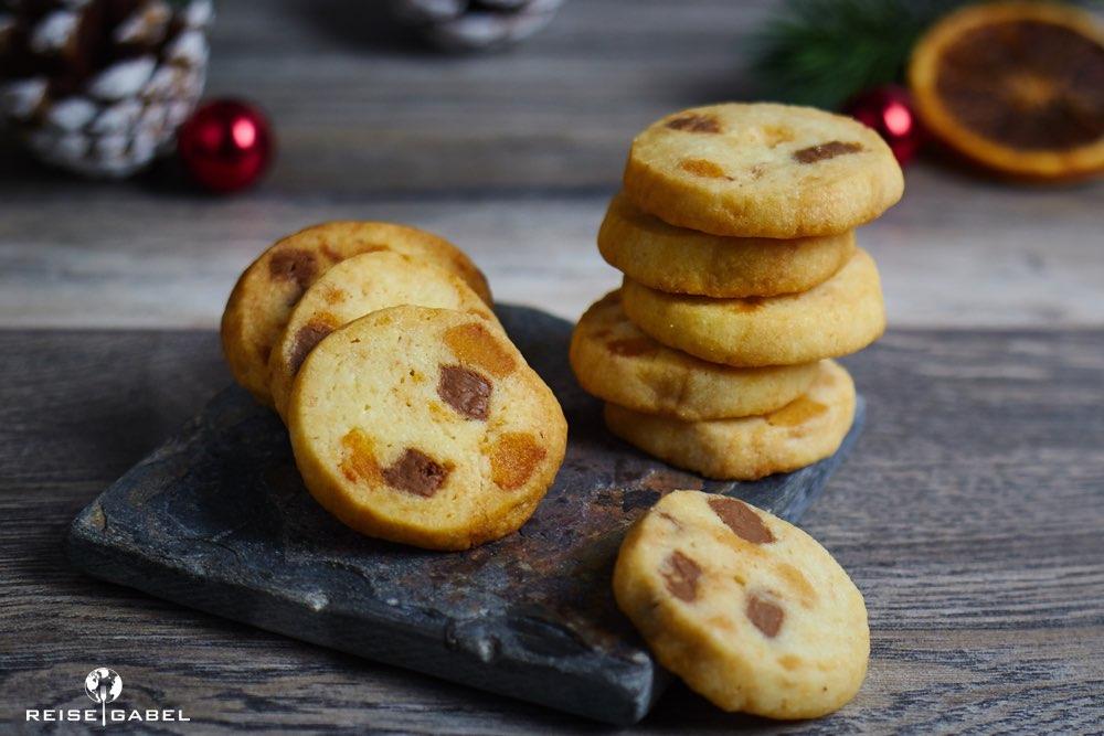 Marzipan-Nougat-Kekse