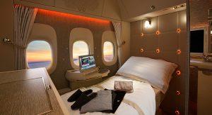 Neue First Class der Emirates (F: Emirates / beigestellt)