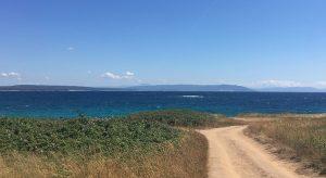 Straße zu den einsamen Stränden bei Medulin (F: Reisekompass)