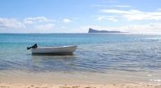 Mauritius_© Reisekompass_Strand mit Boot