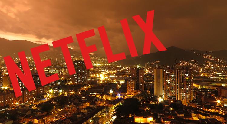 Blick auf Medellin (F: pixabay / © Netflix Logo)