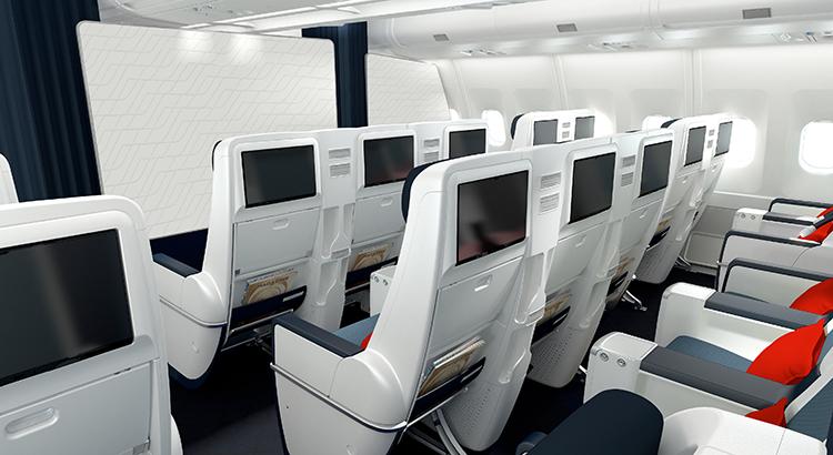 Premium Economy Air France beigestellt Reisekompass