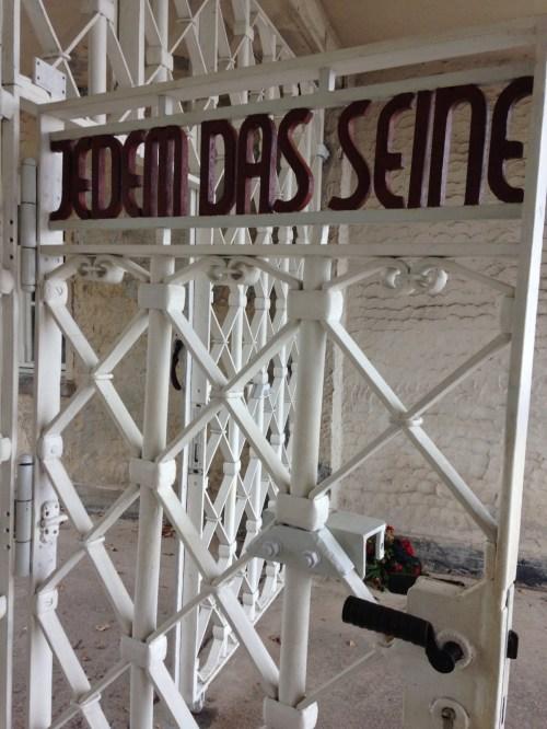 Thüringen Weimar Konzentrationslager Buchenwald Jedem Das Seine