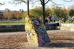 Kunst im Berlin Mauerpark