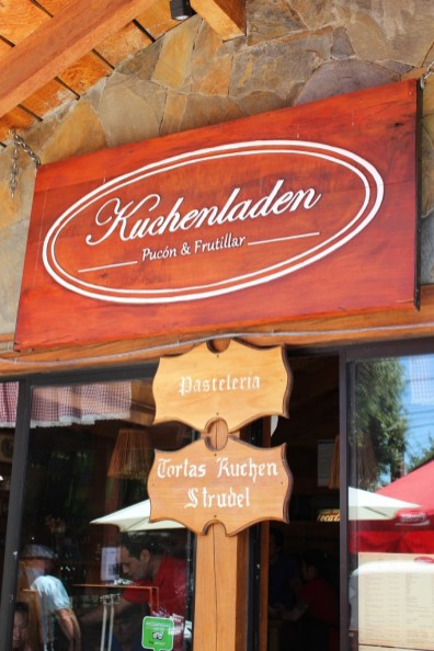 Pucon, Chile, Kuchenladen