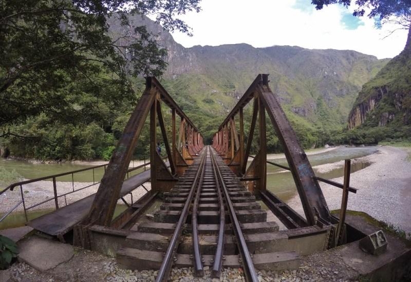 Zugstrecke zum Machu Picchu