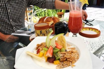 Arequipa französisches Frühstück