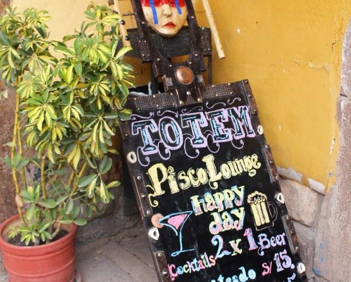 Totem Bar Cusco