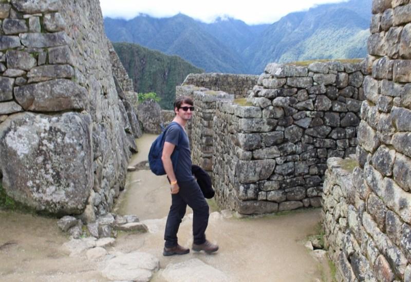 Björn Machu Picchu