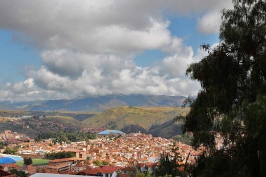 Ausblick auf Sucre
