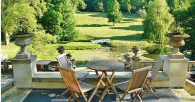 Mecklenburg_Vorpommern Park Terrasse