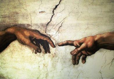2 Haende Sixtinische Kapelle Michelangelo