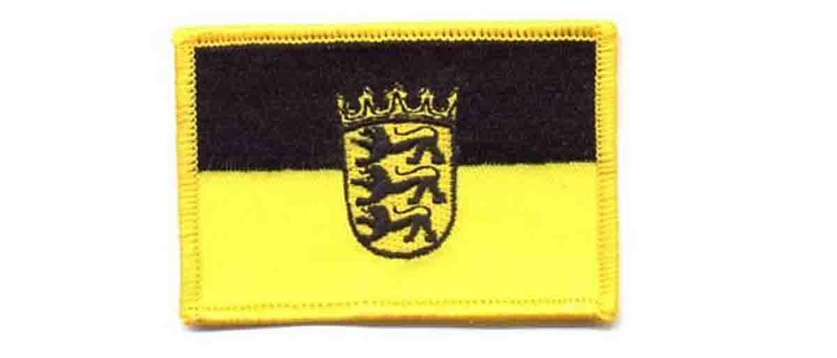 Flaggenaufnäher für den Rucksack