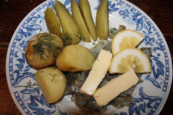 Kartoffelgericht aus Estland