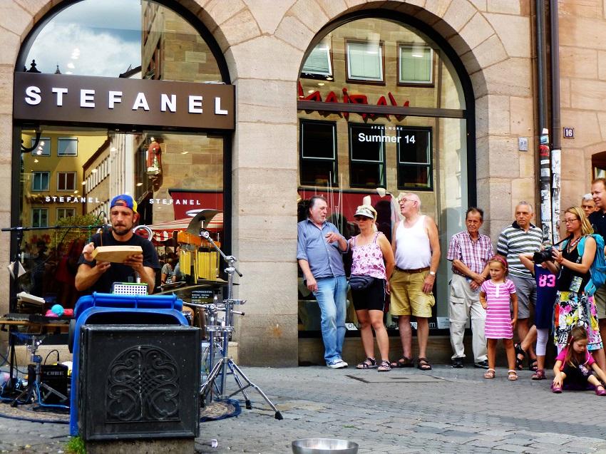Bardentreffen Nürnberg Straßenmusik 1