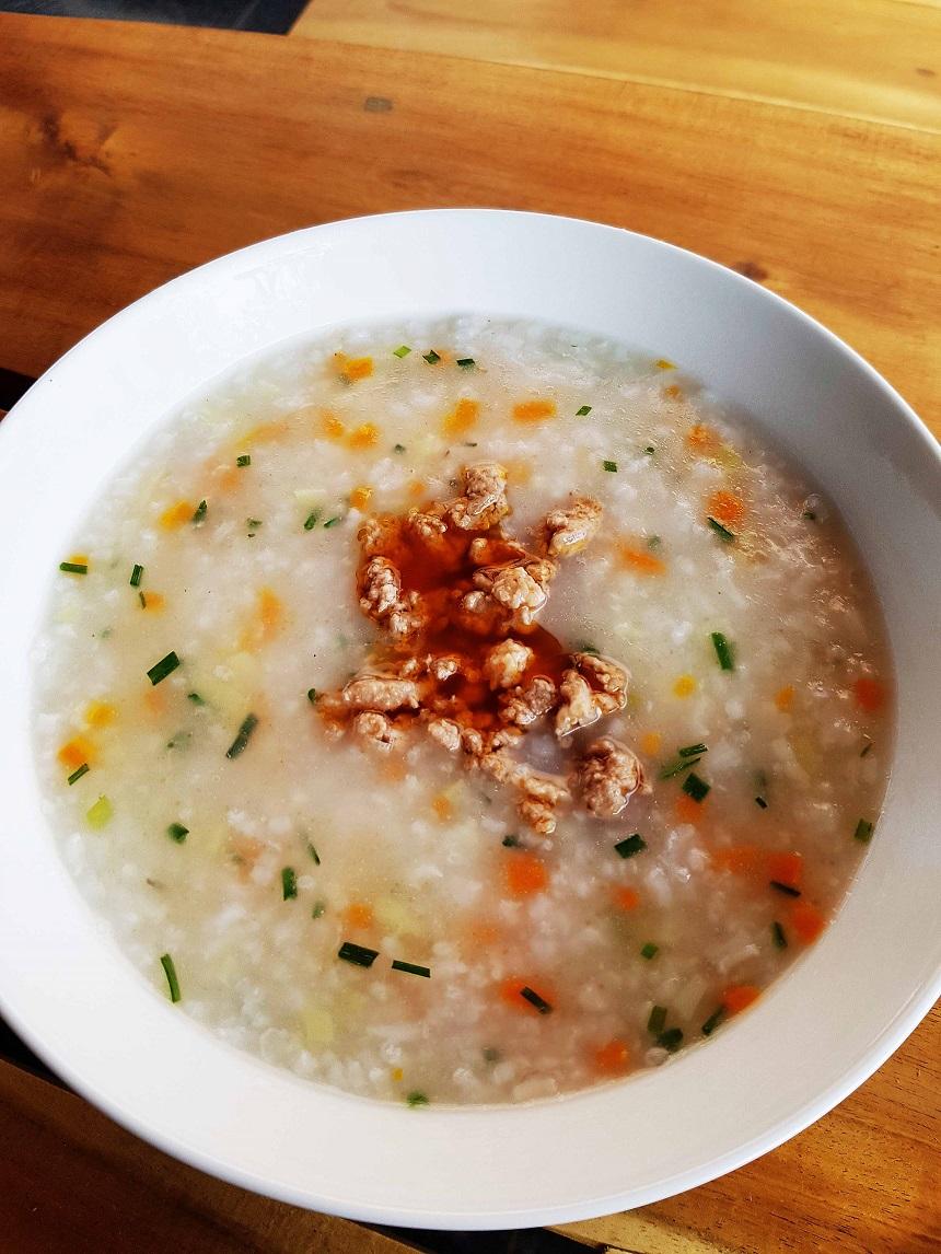 Frühstück in Vietnam mit Kindern