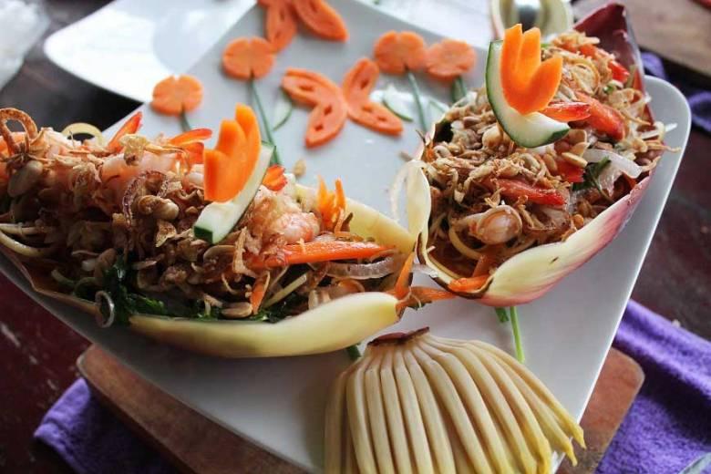 vietnamesischer Bananenblütensalat