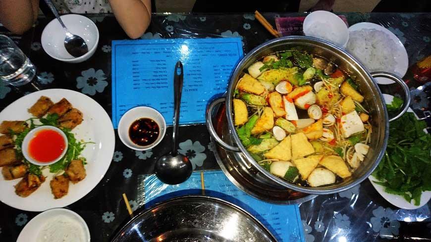 Typische Gerichte Vietnam Lau